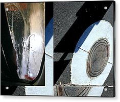 Urban Abstract Seeing Double 83 Acrylic Print