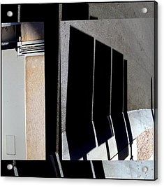 Urban Abstracts Seeing Double 64 Acrylic Print