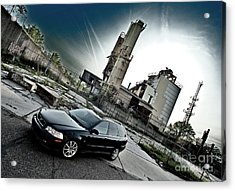 Urban Background Acrylic Print