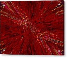 Urban Canyon Vertigo Acrylic Print by Tim Allen