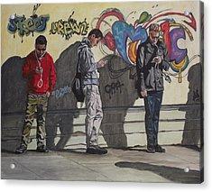 Urban Connection Acrylic Print by Kim Selig