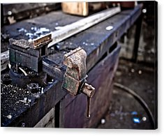 Urban Decay  The Vice Acrylic Print by Edward Myers
