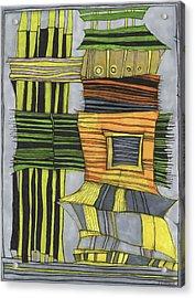 Urban Delight Acrylic Print by Sandra Church