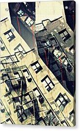 Urban Distress Acrylic Print by Sarah Loft