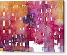 Urban Landscape 3 Acrylic Print by Alessandro Andreuccetti