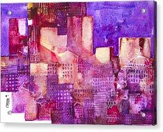 Urban Landscape 4 Acrylic Print by Alessandro Andreuccetti