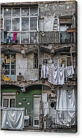 Urban Life Acrylic Print by Svetlana Sewell