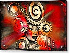 Urban Medusa Acrylic Print
