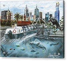 Urban Moment X Acrylic Print
