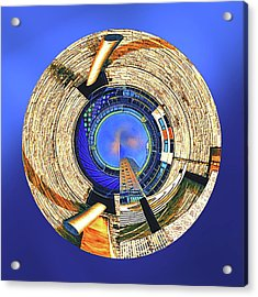 Acrylic Print featuring the digital art Urban Order by Wendy J St Christopher