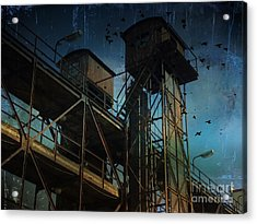 Acrylic Print featuring the photograph Urban Past by Ivana Westin
