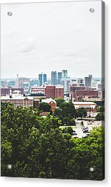 Acrylic Print featuring the photograph Urban Scenes In Birmingham  by Shelby Young