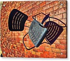 Urban Seating  Acrylic Print
