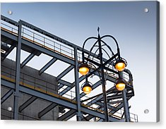 Acrylic Print featuring the photograph Urban Structures by Paul Indigo