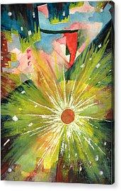 Urban Sunburst Acrylic Print by Andrew Gillette