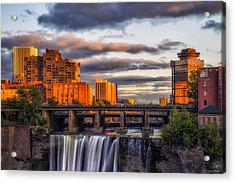 Urban Waterfall Acrylic Print