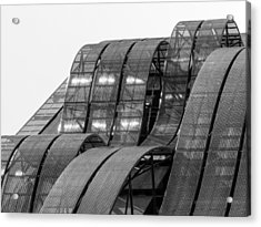 Acrylic Print featuring the photograph Urban Waves by Rand
