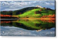 Urkulu Reservoir Acrylic Print