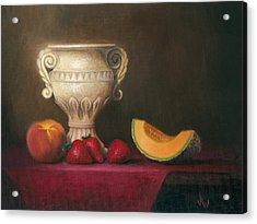 Urn With Fruit Acrylic Print