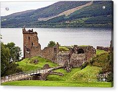 Urquhart Castle I Acrylic Print by Chuck Kuhn