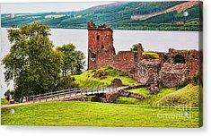 Urquhart  Castle Scotland Acrylic Print