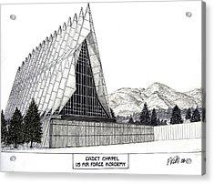 Us Air Force Academy Acrylic Print