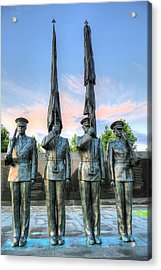 Us Air Force Acrylic Print by JC Findley