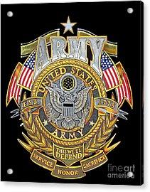 Us Army Acrylic Print