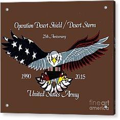 Us Army Desert Storm Acrylic Print
