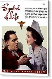 Us Army Nurse Corps Acrylic Print
