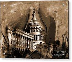 Capitol Building, Washington, D.c-001 Acrylic Print by Gull G