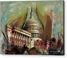 Capitol Building, Washington, D.c -006 Acrylic Print by Gull G