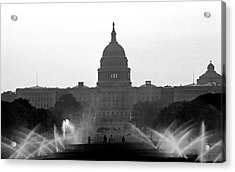 Us Capitol On Summer Morning Acrylic Print