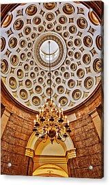 Acrylic Print featuring the photograph Us Capitol Rotunda Washington Dc by Susan Candelario