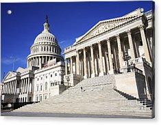 Us Capitol Up Close In Washington Dc Acrylic Print