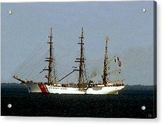U.s. Coast Guard Eagle Acrylic Print by David Lee Thompson