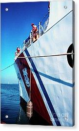 Us Coast Guard  Acrylic Print by Thomas R Fletcher