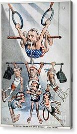 U.s. Grant Cartoon, 1880 Acrylic Print by Granger