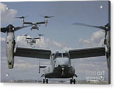 U.s. Marine Corps Mv-22 Osprey Acrylic Print