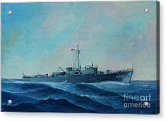 Us Navy Ship Pc577 Acrylic Print