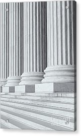 Us Supreme Court Building Iv Acrylic Print