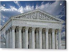 Us Supreme Court II Acrylic Print by Susan Candelario