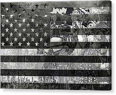 Usa Flag 4 Acrylic Print