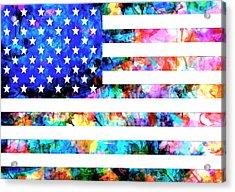 Usa Flag 6 Acrylic Print