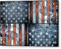 Usa Flag 7 Acrylic Print