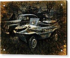 Usa Remains Of The War Acrylic Print