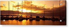 Usa, Wisconsin, Door County, Egg Harbor Acrylic Print by Panoramic Images