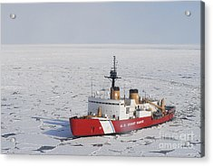 Uscgc Polar Sea Conducts A Research Acrylic Print