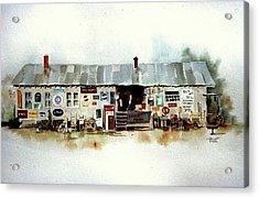 Used Furniture Acrylic Print