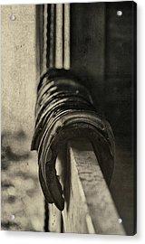 Used Steel Acrylic Print by JAMART Photography